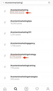 Instagram strategy research