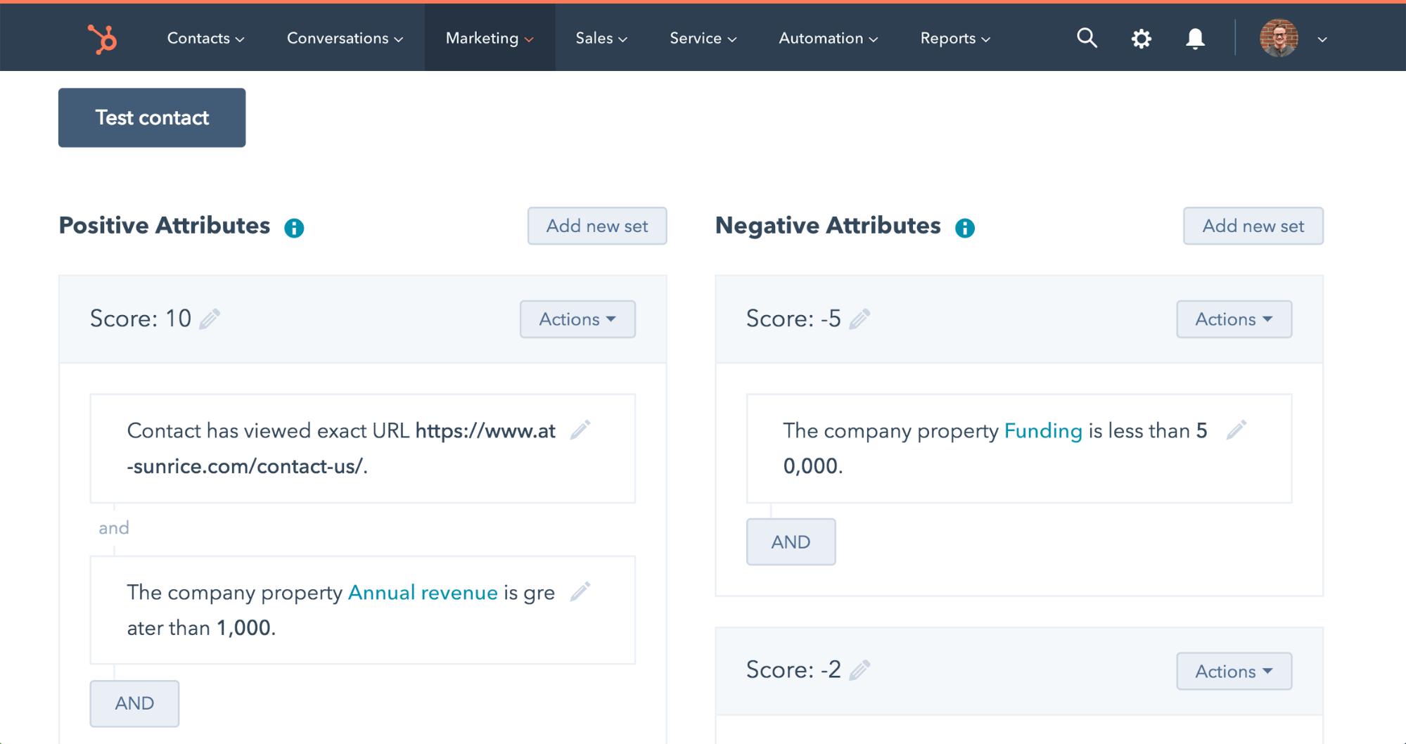 lead scoring to help build efficient sales process